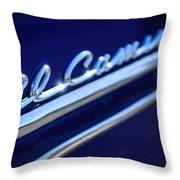 1959 Chevrolet El Camino Emblem -0008c Throw Pillow
