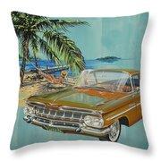 1959 Chevrolet El Camino Throw Pillow