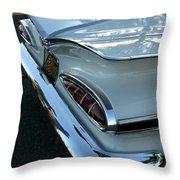 1959 Chevrolet Impala Tailfin Throw Pillow
