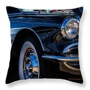 1959 Chevy Corvette Throw Pillow
