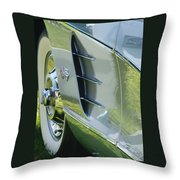 1959 Corvette Throw Pillow