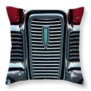 1959 Edsel Corsair Convertible Grille Throw Pillow
