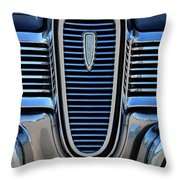1959 Edsel Villager Grille Throw Pillow