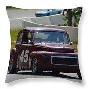 1959 Volvo 544 Throw Pillow