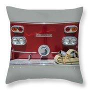 1960 American La France Throw Pillow
