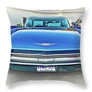 1960 Cadillac - Vignette Throw Pillow