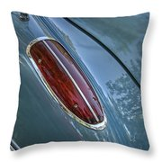 1960 Chevrolet Corvette Tail Light Throw Pillow