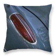 1960 Chevy Corvette Taillight Throw Pillow