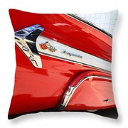 1960 Chevy Impala Low Rider Throw Pillow