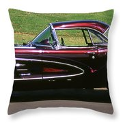 1960 Corvette Throw Pillow
