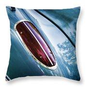 1960 Corvette Taillight Throw Pillow