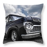 1960 Ford F100 Truck Throw Pillow