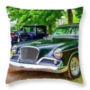 1960 Studebaker Hawk Throw Pillow