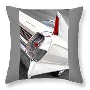 1960s Cadillac Fleetwood Throw Pillow