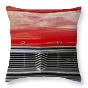 1960s Ford Galaxie Throw Pillow