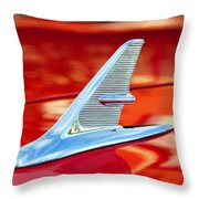 1960s Jet Style Throw Pillow