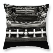 1951 Mercury Classic Car Photograph 011.01 Throw Pillow