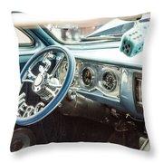1961 Mercury Classic Car Photograph 021.02 Throw Pillow