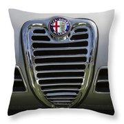 1962 Alfa Romeo Grille Throw Pillow