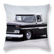 1962 Chevrolet Shortbed Pickup I Throw Pillow