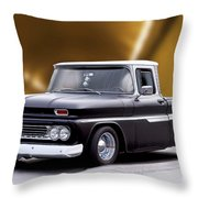 1962 Chevrolet Shortbed Pickup II Throw Pillow