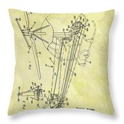 1962 Helicopter Patent Throw Pillow