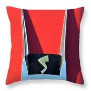 1962 Studebaker Avanti Badge Throw Pillow