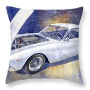 1963-1964 Ferrari 250 Gt Lusso  Throw Pillow