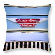 1963 Austin-healey Mark IIi Bj8 Throw Pillow