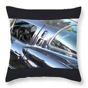 1963 Corvette Stingray Throw Pillow