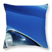 1963 Jaguar Xke Roadster Headlight Throw Pillow