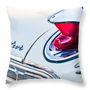 1963 Mercury Meteor Taillight Emblem Throw Pillow