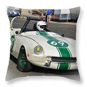 1963 Triumph Spitfire  Throw Pillow