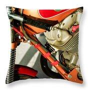 1964 Ducati 250cc F3 Corsa Motorcycle -2727c Throw Pillow