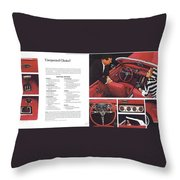1964 Ford Mustang-06-07 Throw Pillow