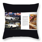 1964 Ford Mustang-10-11 Throw Pillow
