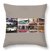 1964 Ford Mustang-10-11ab Throw Pillow