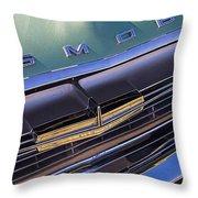 1964 Oldsmobile Jetstar Hood Ornament Throw Pillow