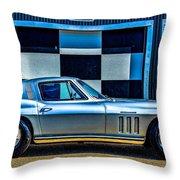 1965 Corvette Fuelie Throw Pillow