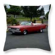 1965 Dodge Coronet 500 Higgins Throw Pillow