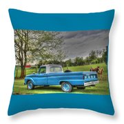 1965 Ford Throw Pillow