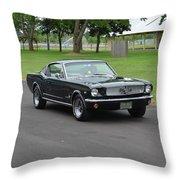 1965 Mustang Fastback Kearney Throw Pillow