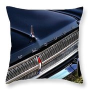 1965 Plymouth Satellite 440 Throw Pillow