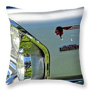 1965 Pontiac Grand Prix Front End Throw Pillow