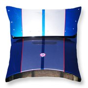 1965 Shelby Ac Cobra Grille Throw Pillow
