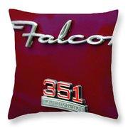 1966 Ford Falcon Throw Pillow