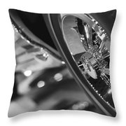 1966 Hurst Pontiac Gto Throw Pillow