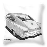 1966 Marlin By Nash Throw Pillow