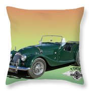 1966 Morgan 4 Plus 4 Throw Pillow