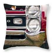 1966 Pontiac Gto Grill Throw Pillow